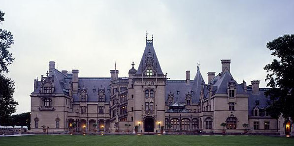 The imposing Biltmore, which it will take you three or more tours to fully experience.  (Carol M. Highsmith)