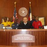 Yargıç Karahan Mahkemeyi Ziyaret Eden Öğrencilerle