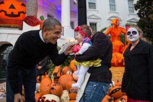 Beyaz Saray'da Cadılar Bayramı