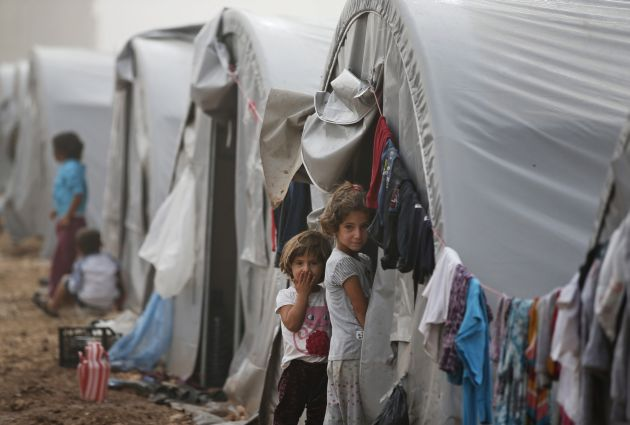 APTOPIX Turkey Syria Refugees