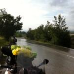 yağmurda yol almak