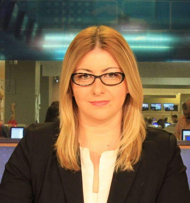 Bu da haberci Selin (TGRT Haber Ortak Yayını'nda) :)
