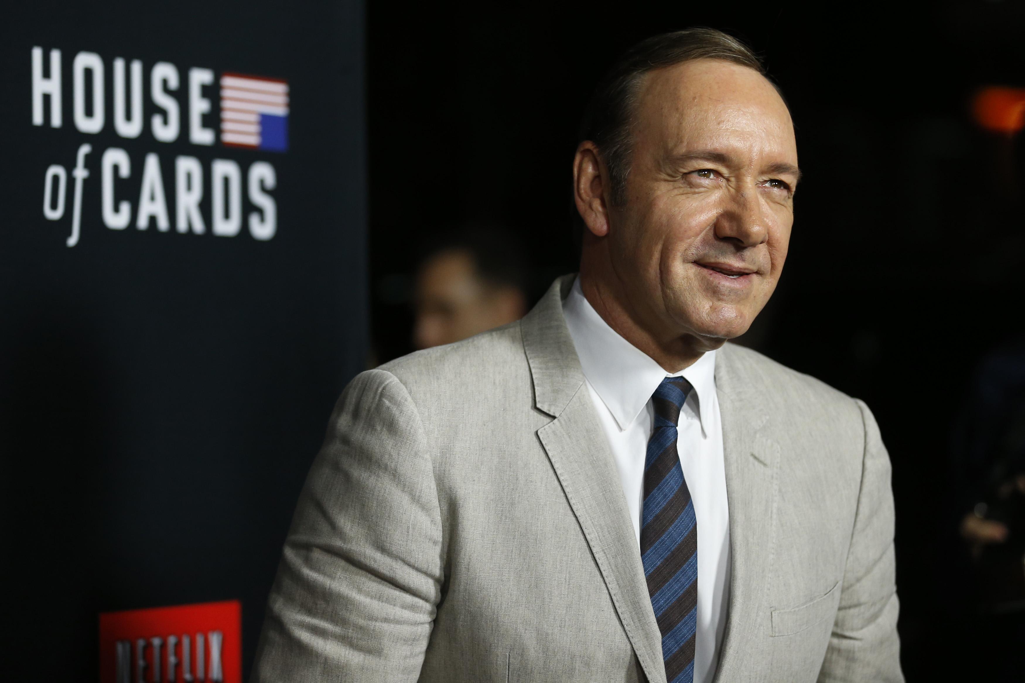 'House of Cards'ın Yapımcısı ve Baş Rol Oyuncusu Kevin Spacey