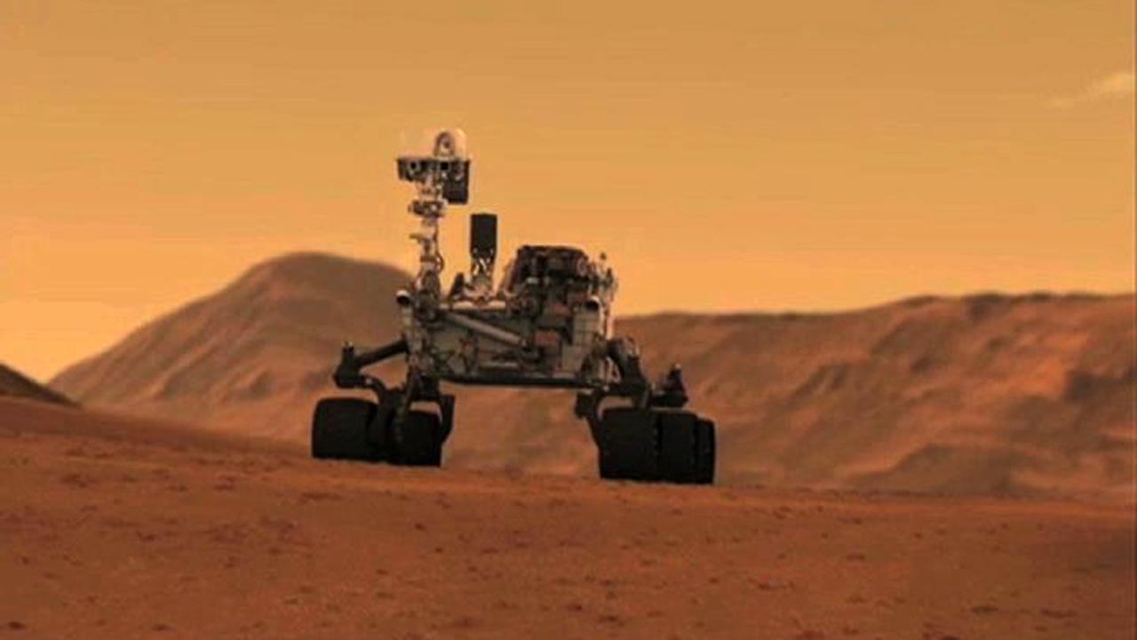 Mars Aracı Curiosity