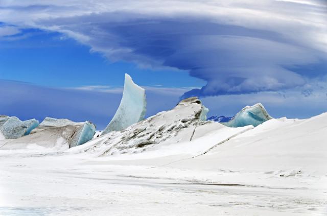 Ross Buzulu'ndan bir görüntü