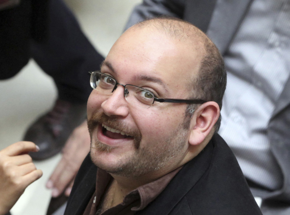 Jason Rezaian, an Iranian-American correspondent for the Washington Post is shown in this April 2013 file photo. (AP)