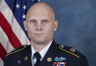 U.S. Army Master Sergeant Joshua Wheeler was killed in a joint U.S.-Kurdish Peshmerga   commando raid on an Islamic State prison. 69 hostages were freed. Wheeler was the first American serviceman to die in Iraq in nearly four years. (US Army photo via AP)