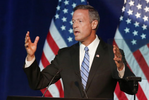 Former Maryland Gov. Martin O'Malley speaks in Minneapolis on Aug. 28, 2015. (AP)