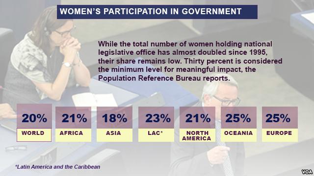 Women particpation in govt