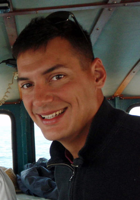 This undated photo obtained from the family of Austin Tice, shows American freelance journalist Austin Tice, 31, who has been missing in Syria since mid-August, 2012. (AP)
