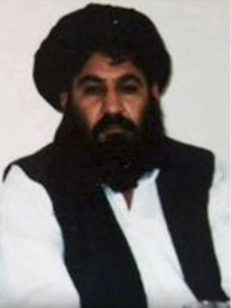 Mullah Akhtar Mohammad Mansour is seen in this undated handout photograph by the Taliban. (Reuters)