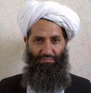 Taliban new leader Mullah Haibatullah Akhundzada is seen in an undated photograph, posted on a Taliban twitter feed on May 25, 2016, and identified separately by several Taliban officials, who declined be named. (Reuters)