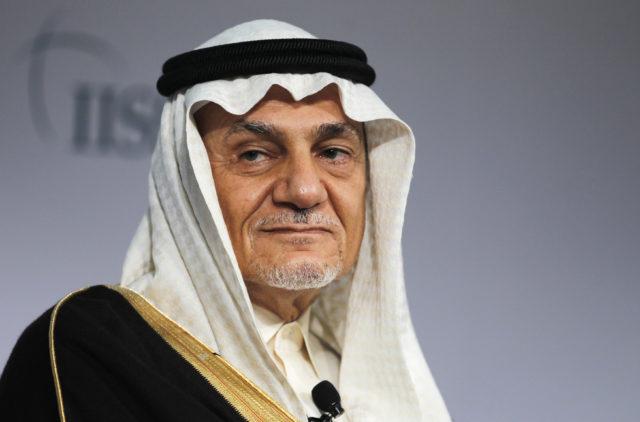 FILE - Former Head of Saudi intelligence Prince Turki Al Faisal Al Saud attends a close session meeting at the IISS Regional Security Summit in Manama, Bahrain December 8, 2013. ( REUTERS)