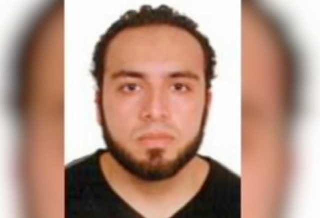 Photo of New York & New Jersey bombing suspect Ahmad Khan Rahami from FBI wanted poster.