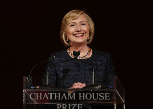 Former Secretary of State Hillary Clinton may need to distance herself from the Obama administration if she chooses to run from president again in 2016. (AP file photo)