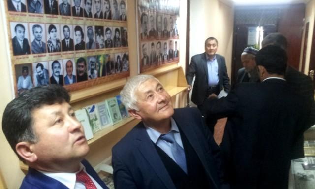 Respublika hukumati o'zbek  gazetasi  muzeyida