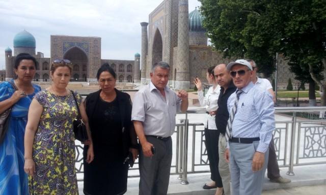 Markaz faoli Markaziy Osiyo vakillari bilan Samarqandda