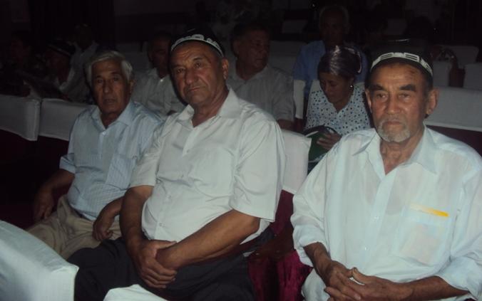 Fuqorolar urushi davrida Oliy Majlis deputati bo'lgan obro'li rais G'olibjon Fozilov hurmatli mehmonlardan.