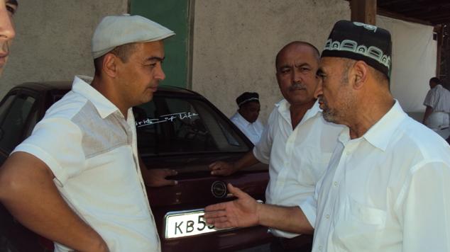 Sozandalar Botir Avezov, Tavakkal Vaydulloyev va Muhammadjon A'zamov