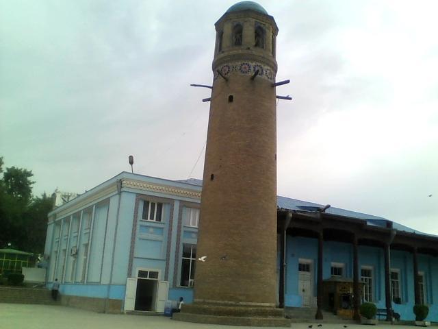 Panjshanbe mavzesida XVIII asrda qurilgan minora