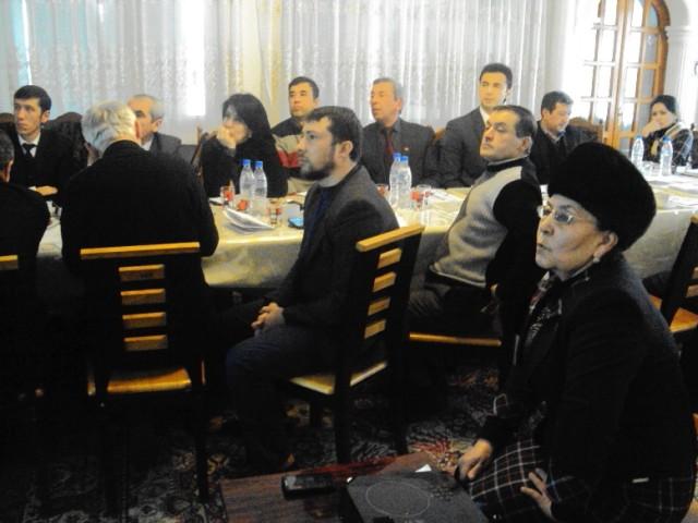 5. Khujanddagi OBSE dala ofisida TXDP o'z saylovoldi dasturini bayon etish lahz