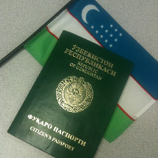 UZB-Passport